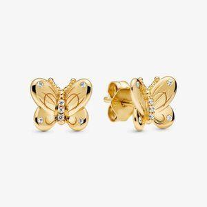 Butterfly Stud Earrings